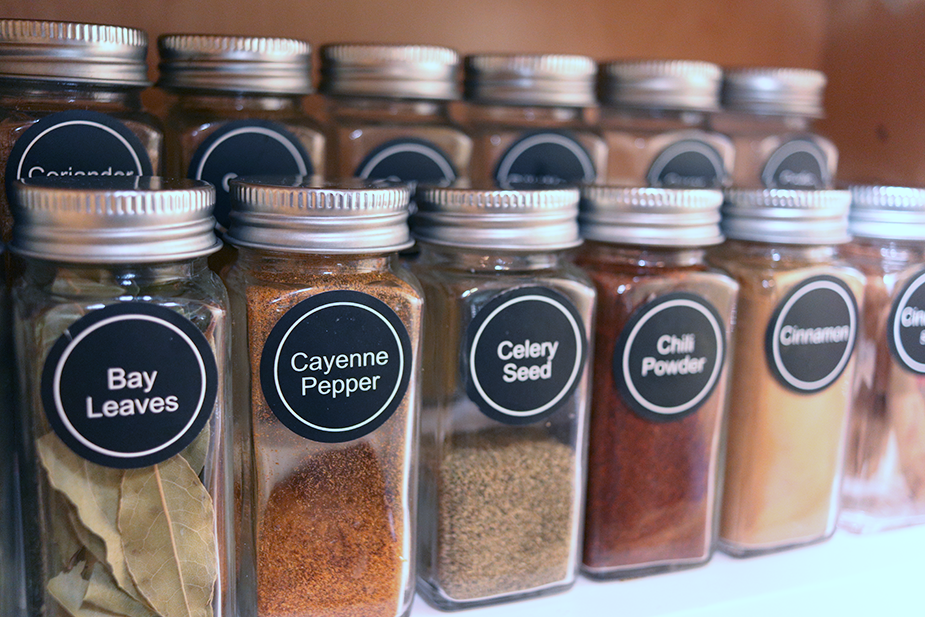 decanted spices