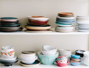 cluttered dishes