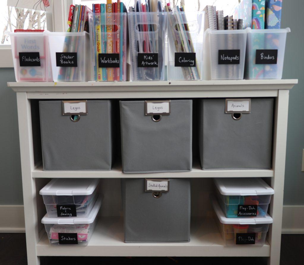 multi purpose bins for organizing